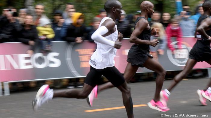 Sport Marathon l Nike - Kenianer Eliud Kipchoge