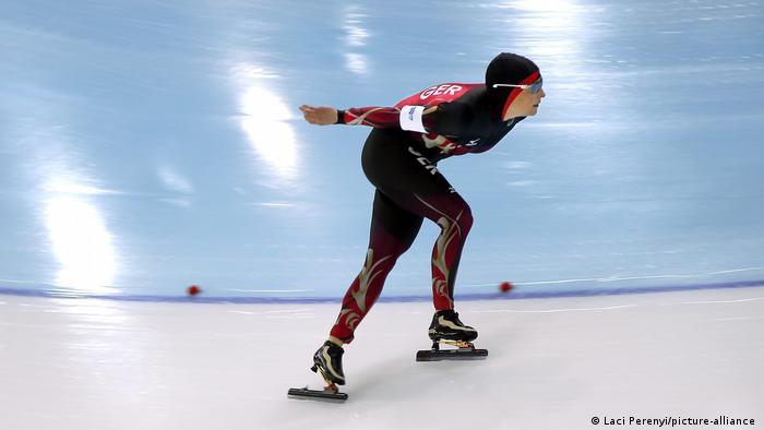 Sport l Klappschlittschuh lOlympische Winterspiele 2014 in Sotschi, Pechstein