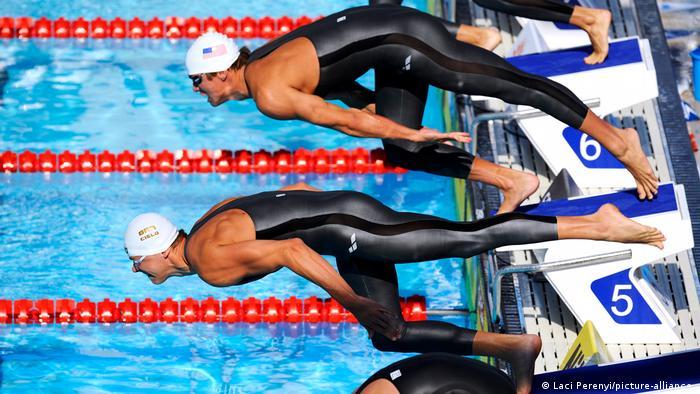 Sport Schwimmanzug l Schwimm-Weltmeisterschaften 2009 in Rom
