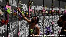 Mexiko l Weltfrauentag in Mexico City