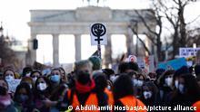 Deutschland l Weltfrauentag am Brandenburger Tor, Berlin