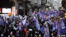 Türkei l Weltfrauentag in Istanbul - Demonstration