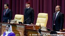 بعد سنوات من الحرب انعقد مجلس النواب الليبي في مدينة سرت لمنح الثقة لحكومة الوحدة الجديدة.