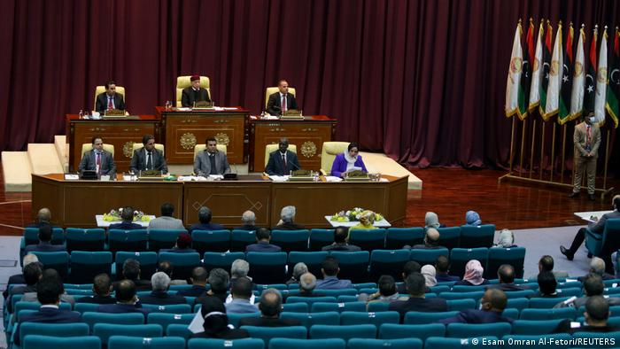 Libyan Parliament meets to discuss approving new government