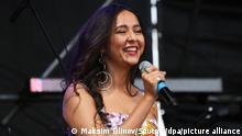 Manizha на концерте летом 2018 года
