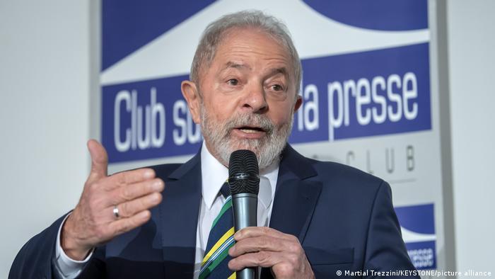 Schweiz Ehem. brasilianischer Präsident Lula Da Silva