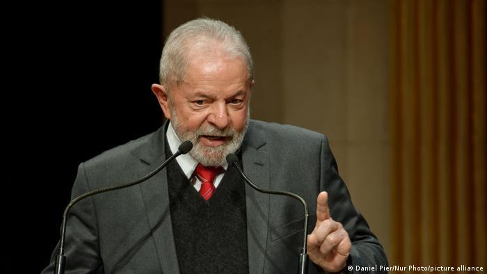 Frankreich Ehem. brasilianischer Präsident Lula Da Silva