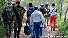 Kolumbien Venezolanische Flüchtlinge an der Grenze