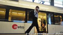 Valencia metro car