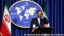 Iran Außenpolitischer Sprecher Saeed Khatibzadeh