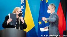 Deutschland Bosnien-Herzegowina Außenministerin Bisera Turkovic Außenminister Heiko Maas