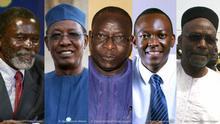 Bildkombination Chad Politiker Gegner 5 Bilder