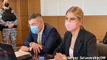 Russland Lyubov Sobol, Gericht in Moskau