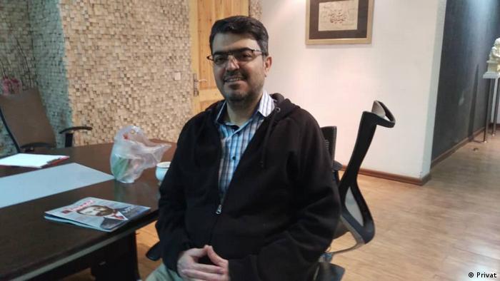 Ismael Abdi   iranischer Lehrer der inahfiert im Hungerstreik ist