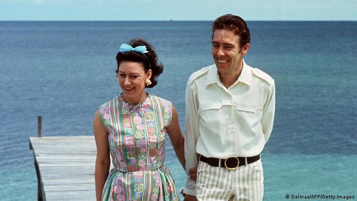 Prinzessin Margaret mit ihrem Ehemann Antony Armstrong-Jones