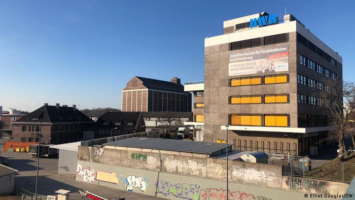 Здание мастерской в Берлине