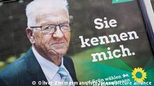 Politik, Landtagswahl 2021 in Baden-Württemberg, Wahlplakate