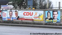 Wahlplakate - Landtagswahl in Rheinland-Pfalz 2021
