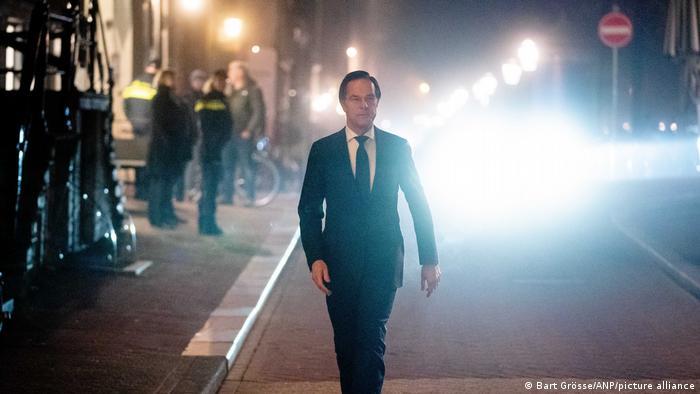 Ministerpräsident der Niederlande Mark Rutte