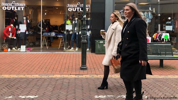 Niederlande Covid-19 Wiederöffnung der Geschäften