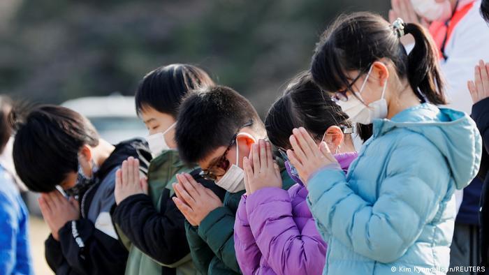 Japan Fukushima Gedenkfeier