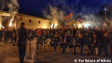 Rally of coalition ,,For future of Niksic, the source is coalition ,,For future of Niksic