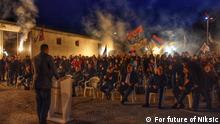 Montenegro Wahlen in Niksic
