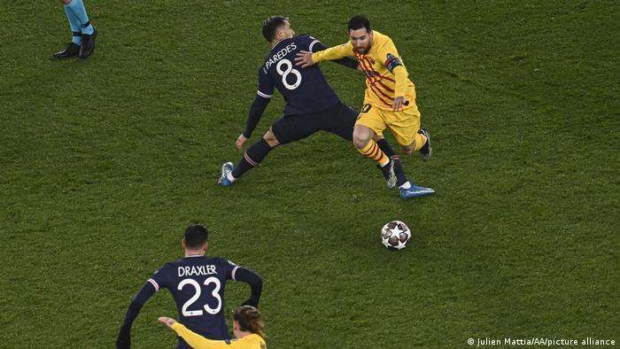 Frankreich Fußball UEFA Champions League PSG Paris vs. Barcelona