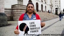 Brasilien Marinete Silva Mord an Menschenrechtsaktivistin Mutter von Marielle Franco