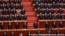 China Peking Kongress Präsident Xi Jinping