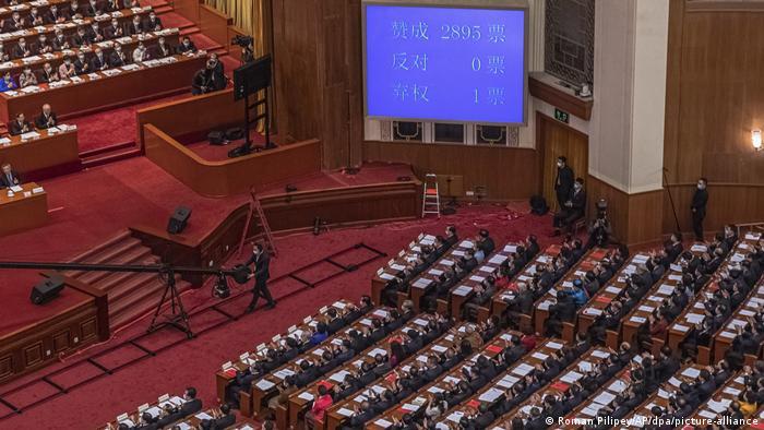 China Jahrestagung des Nationalen Volkskongresses
