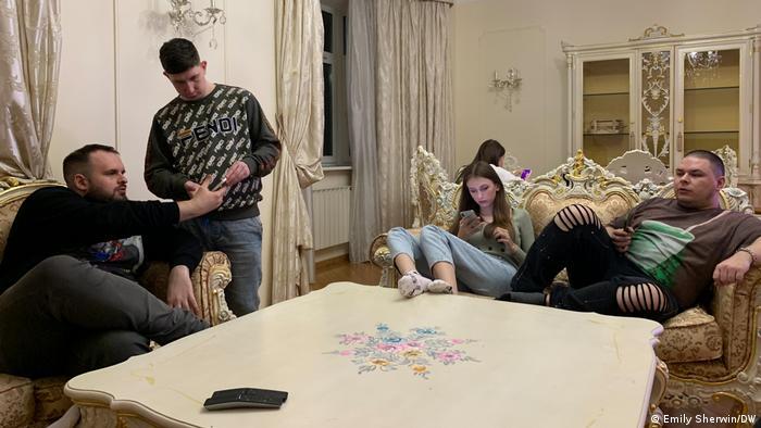Social Stars TikTok House in Moscow (Emily Sherwin/DW)