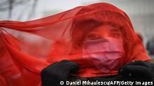 Weltspiegel 11.03.2021 | Rumänien | Proteste gegen häusliche Gewalt in Bukarest