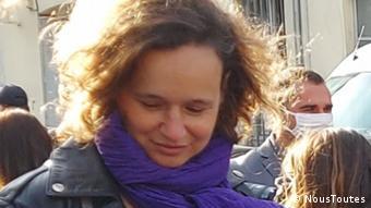 Frankreich Sophie Barre Mitglied im Verein für Frauenrechte