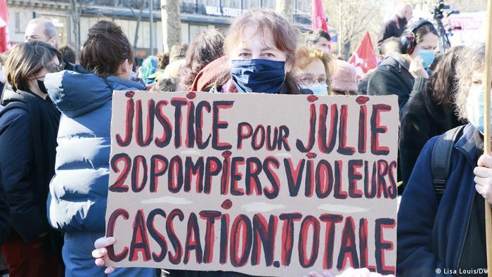 Demonstracija u Francuskoj u znak potpore obitelji Leriche