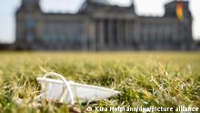 Deutschland |Coronavirus | FFP2-Maske | Deutscher Bundestag