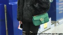 China Model He Sui Gucci-Handtasche