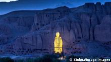 Zerstörung Buddha-Statuen in Bamiyan | Projektion des ursprünglichen Buddha
