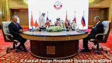 Katar | Doha | Gespräche zu Friedensprozess in Syrien