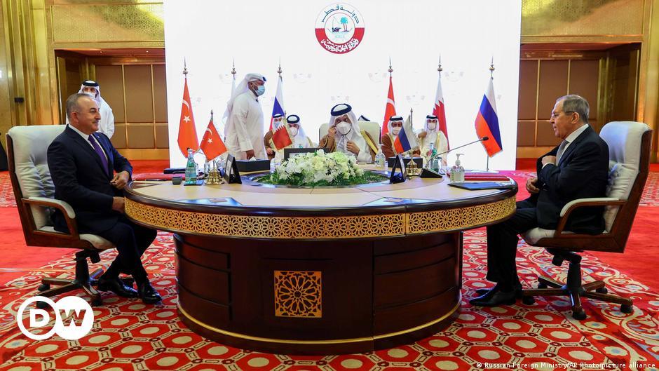 Türkiye, Rusya ve Katar'dan ortak Suriye açıklaması