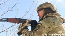 Ukraine Kiew Zivilverteidigung