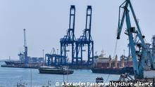 Rumänien Constanta Hafen