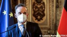 Frankreich Außenministertreffen Deutschland Frankreich Ägypten Jordanien Heiko Maas