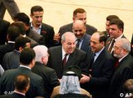 ایاد علاوی  در نشست پارلمان عراق