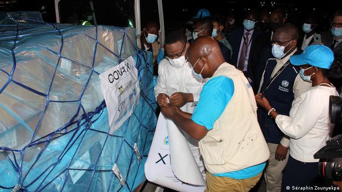 Premières livraisons Covax au Bénin, en mars