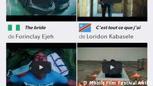 Afrika Plakat Mobile Film Festival Afrika