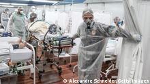Weltspiegel 12.03.2021 | Brasilien | Intensivstationen in Sao Paulo zu 80% belegt