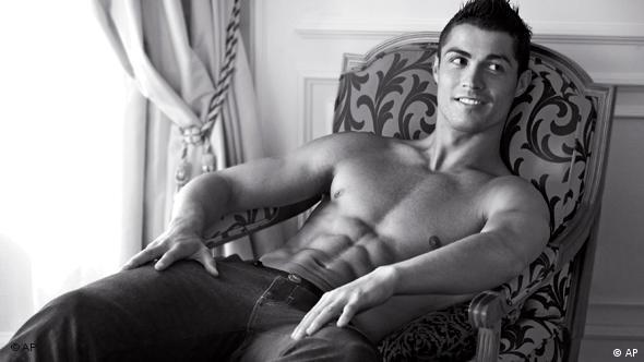 Cristiano Ronaldo kao Armanijev model