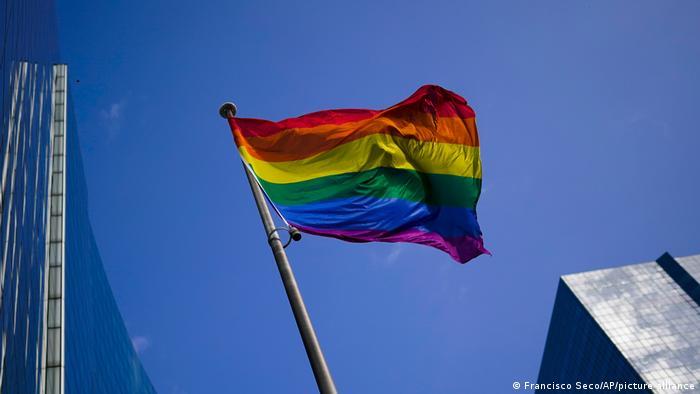 Belgien Brussel | Regenbogenflagge