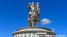 Mongolei Reiterstandbild des Dschingis Khan